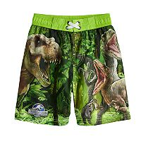 Boys 4-7 Jurassic Park Swimming Trunks