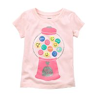 Toddler Girl Carter's Bubble Gum Tee