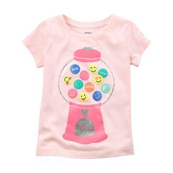 Toddler Girl Carter's Bubble Gum Tee