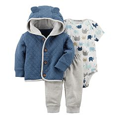 Baby Boy Carter's 3-pc. Cardigan Set