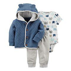 Baby Boy Carter's 3 pc Cardigan Set