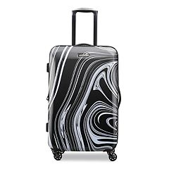 American Tourister Burst Max Printed Hardside Spinner Luggage