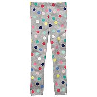 Toddler Girl Carter's Polka Dot Leggings