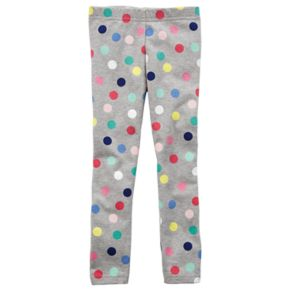 Toddler Girl Carter's Polka Dot Leggings