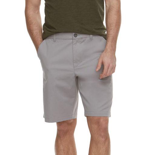 Men's Marc Anthony Solid Slim-Fit Flex Waistband Stretch Shorts