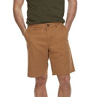 Men's Marc Anthony Solid Slim-Fit Flex Waistband Stretch Shorts