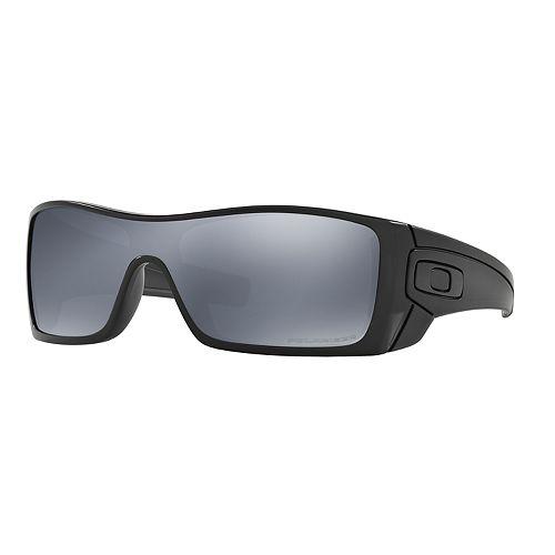 d9a1770fea34 Oakley Batwolf OO9101 27mm Rectangle Black Iridium Polarized ...