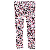 Toddler Girl Carter's Floral Print Leggings