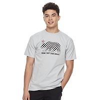Men's Vans Checkered Bear Tee