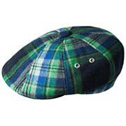Men's Kangol Tartan Hawker Plaid Wool-Blend Flat Ivy Cap