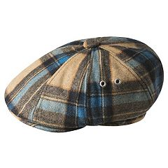 Men's Kangol Tartan Hawker Plaid Wool-Blend Flat Ivy Cap
