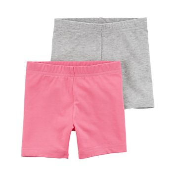 Toddler Girl Carter's 2-pk. Solid Bike Shorts