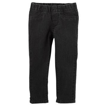 Girls 4-12 OshKosh B'gosh® Solid Black Jeggings