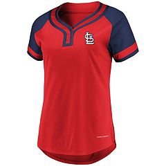Women's Majestic St. Louis Cardinals Snap Top
