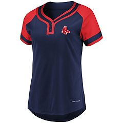 Women's Majestic Boston Red Sox Snap Top