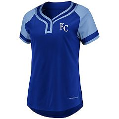 Women's Majestic Kansas City Royals Snap Top