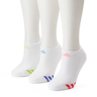 Women's adidas 3-pk. Color Striped Superlite No-Show Socks