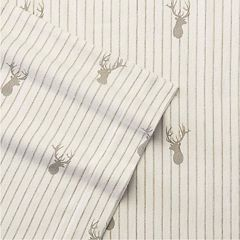 Eddie Bauer Deer Lodge Flannel Sheet Set