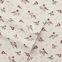 Eddie Bauer Frosty Finch Flannel Sheet Set