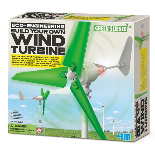 4M Eco-Engineering Build Your Own Wind Turbine