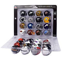 Riddell NFL Mini-Helmet Tracker Set