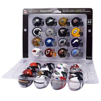 Riddell NFL Mini-Helmet Tracker Set