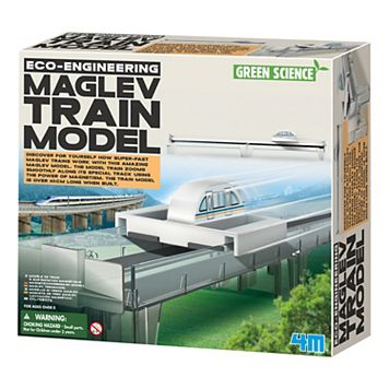 4M Eco-Engineering MAGLEV Train Model