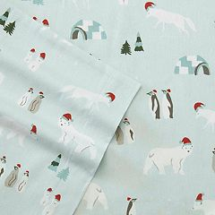 Eddie Bauer Winter Gathering Flannel Sheet Set