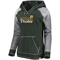 Women's Majestic Pittsburgh Pirates All That Lightweight Hoodie
