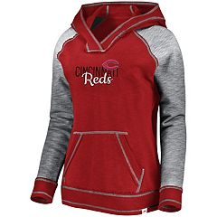 Women's Majestic Cincinnati Reds All That Lightweight Hoodie