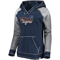 Women's Majestic Detroit Tigers All That Lightweight Hoodie