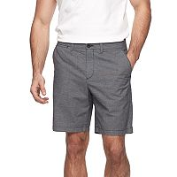 Men's Apt. 9® Regular-Fit Crosshatch Textured Stretch Shorts