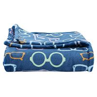 Better Living Velvety Plush Novelty Print Throw