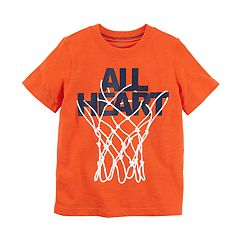 Boys 4-8 Carter's 'All Heart' Basketball Hoop Graphic Tee