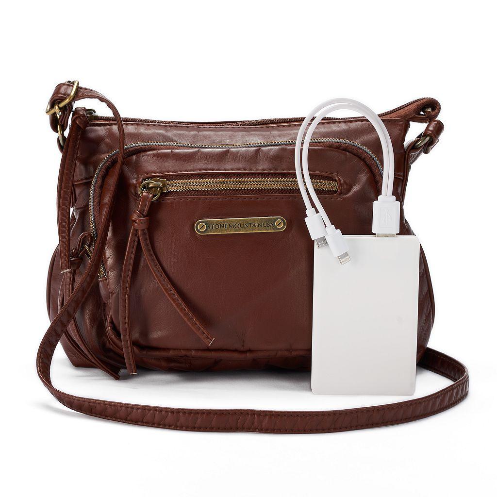 Stone & Co. Emily Small Utility Phone Charging Crossbody Bag