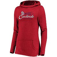 Women's Majestic St. Louis Cardinals Winning Side Hoodie