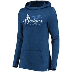 Women's Majestic Los Angeles Dodgers Winning Side Hoodie
