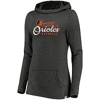 Women's Majestic Baltimore Orioles Winning Side Hoodie