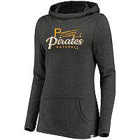 Women's Majestic Pittsburgh Pirates Winning Side Hoodie