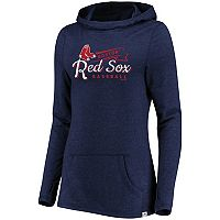 Women's Majestic Boston Red Sox Winning Side Hoodie