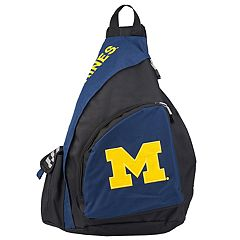 Michigan Wolverines Lead Off Sling Backpack by Northwest