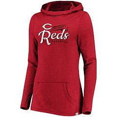 Women's Majestic Cincinnati Reds Winning Side Hoodie