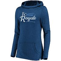 Women's Majestic Kansas City Royals Winning Side Hoodie