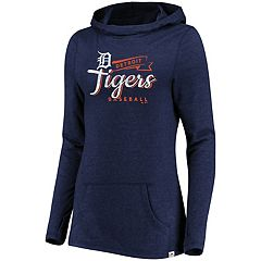 Women's Majestic Detroit Tigers Winning Side Hoodie