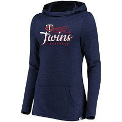 Women's Majestic Minnesota Twins Winning Side Hoodie