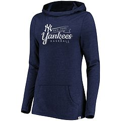 Women's Majestic New York Yankees Winning Side Hoodie