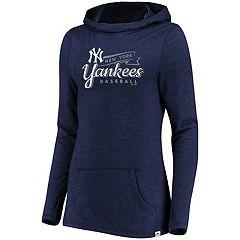 Women's Majestic New York Yankees Winning Side Hoodie