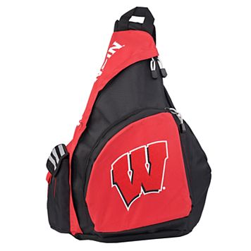 Wisconsin Badgers Lead Off Sling Backpack by Northwest