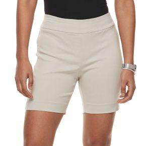 Petite Briggs Millennium Pull-On Shorts