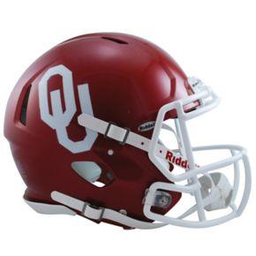 Riddell NCAA Oklahoma Sooners Speed Authentic Replica Helmet